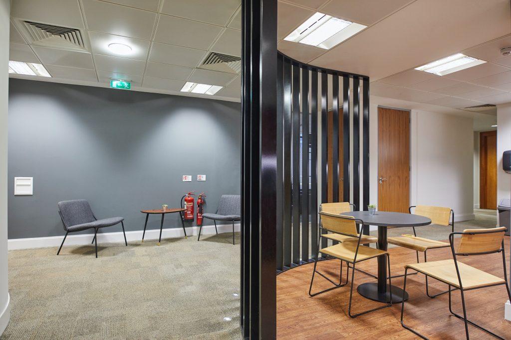 Breakout office space