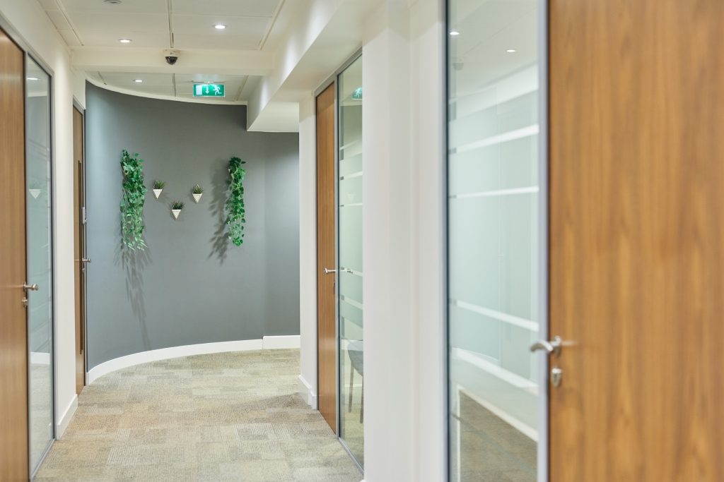 Office corridor